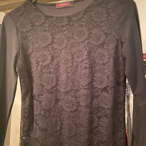 Prada fancy lace top